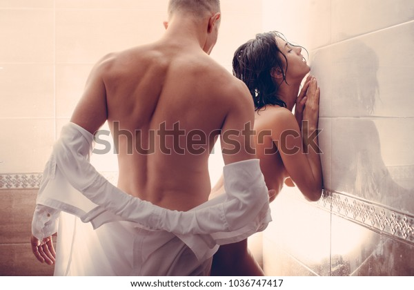 Sexy girls doing sex in the bathroom with boys